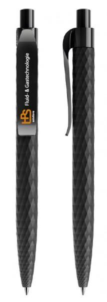 Kugelschreiber Softtouch - Motiv: HPS - Farbe: schwarz