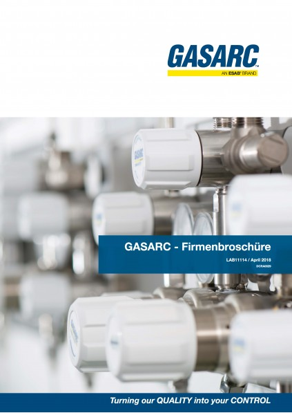 GAS-ARC Firmenbroschüre (LAB11114), REV: April 2018 / DCRA0029