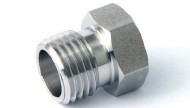 "Druckschraube, Edelstahl, 1/4"", Ra = 0,25 µm"
